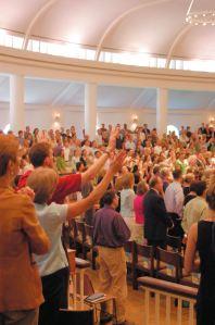 congregationworshipping